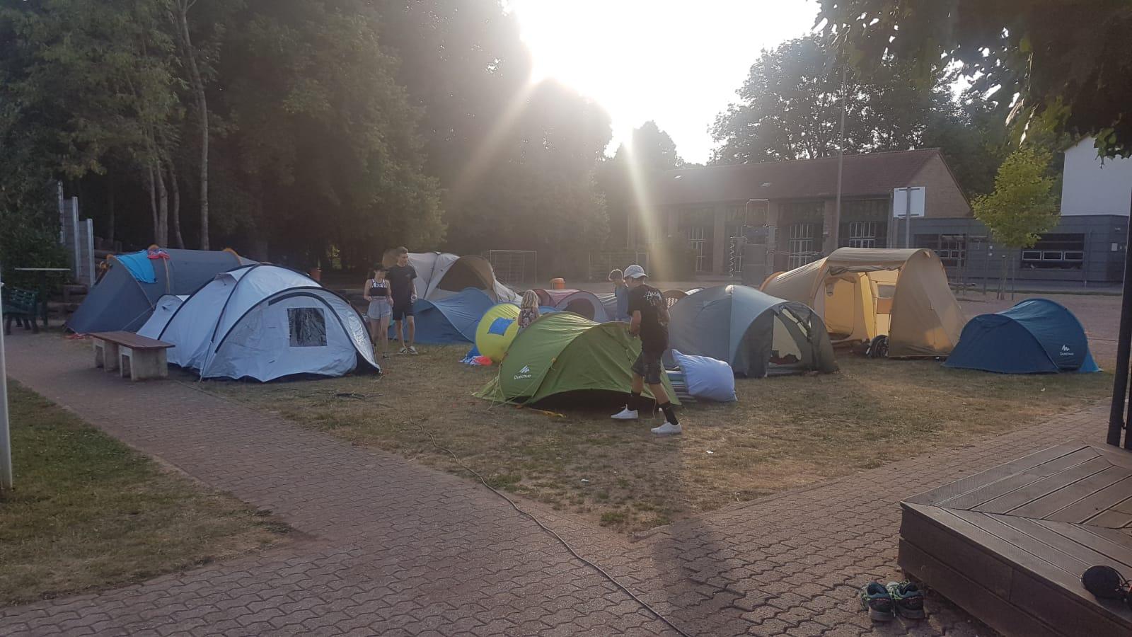 Zeltlager TCBL 2018