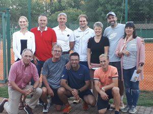Gruppenfoto der Finalisten des Autohaus-Wirtz-Cups 2018
